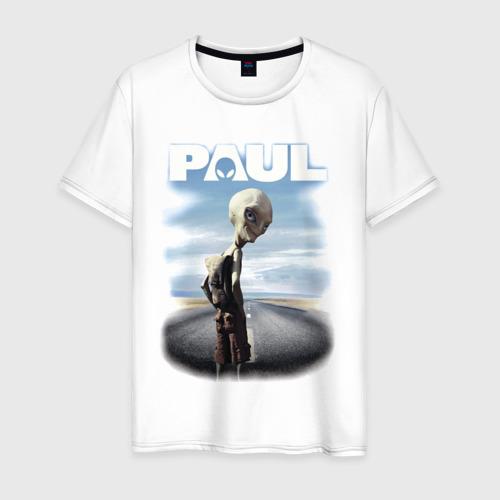 Мужская футболка хлопок Пол: Секретный материальчик