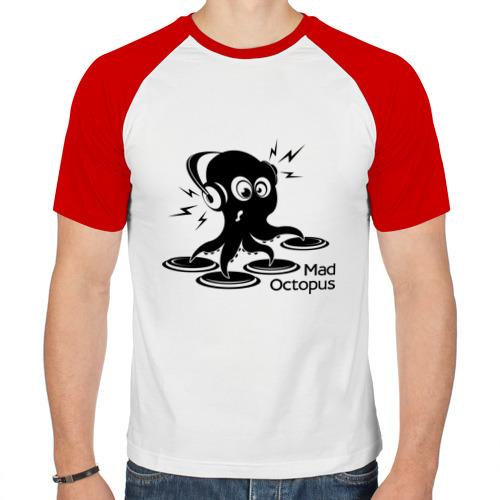 Мужская футболка реглан  Фото 01, Mad octopus
