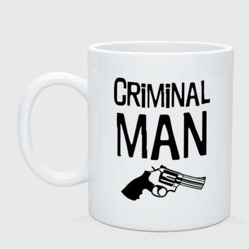 Кружка  Фото 01, Criminal man