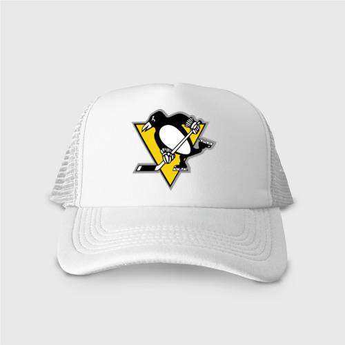 Кепка тракер с сеткой Pittsburgh Penguins (10) Фото 01