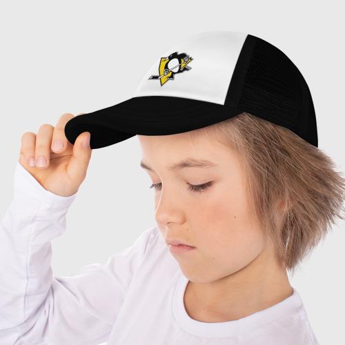 Детская кепка тракер Pittsburgh Penguins (10) Фото 01