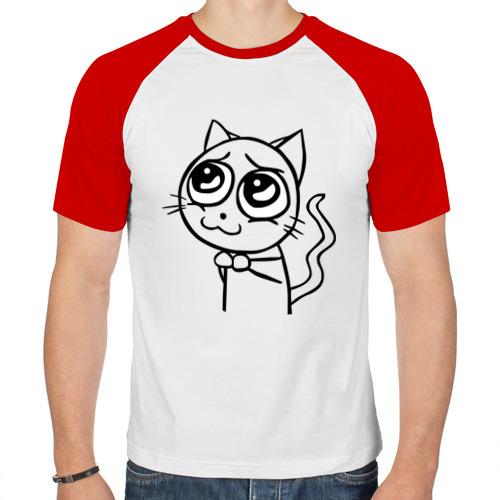 Мужская футболка реглан  Фото 01, Please (пожалуйста)