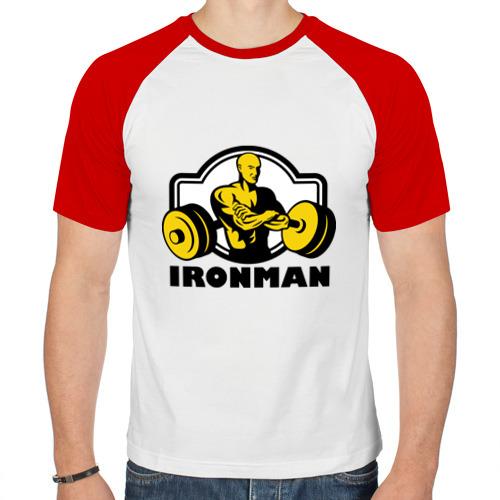 Мужская футболка реглан  Фото 01, Силовой спорт