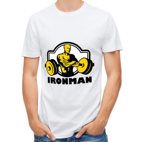 Мужская футболка полусинтетическая  Фото 01, Силовой спорт