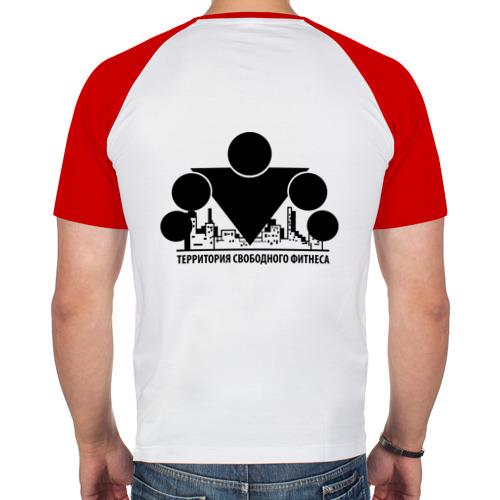 Мужская футболка реглан  Фото 02, Территория свободного фитнеса