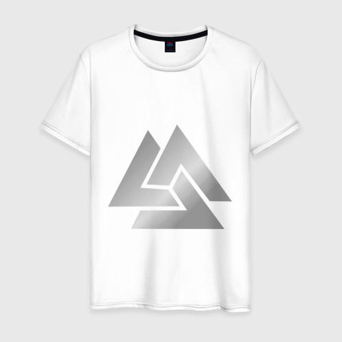 Мужская футболка хлопок Волки Одина