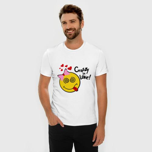 Мужская футболка премиум  Фото 03, crazy in love