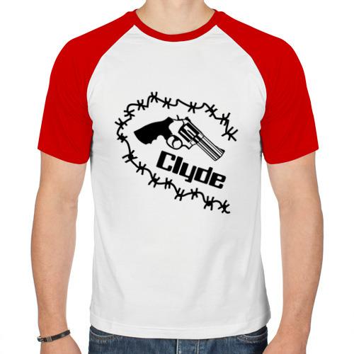 Мужская футболка реглан  Фото 01, Clyde