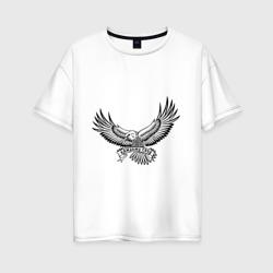 Женская футболка хлопок Oversizeкаждому свое