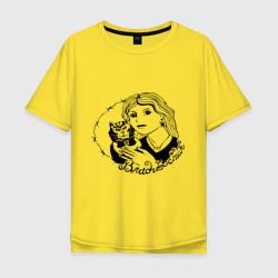 Мужская футболка хлопок OversizeВладивосток портак