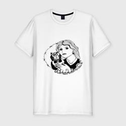 Мужская футболка премиумВладивосток портак