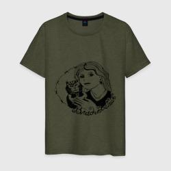 Мужская футболка хлопокВладивосток портак