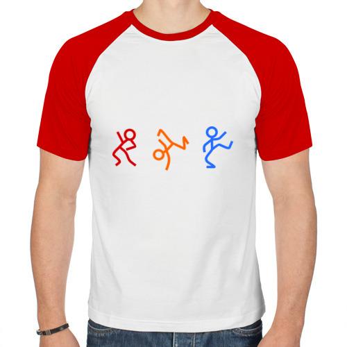 Мужская футболка реглан  Фото 01, чубрики dens