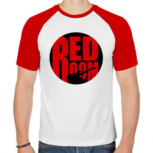 Мужская футболка реглан  Фото 01, Red room