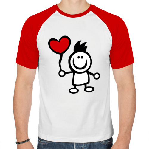 Мужская футболка реглан  Фото 01, Для влюбленных (2)