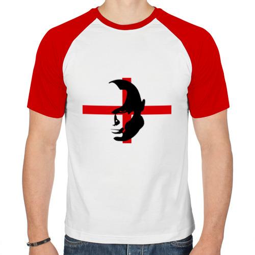 Мужская футболка реглан  Фото 01, Английский болельщик