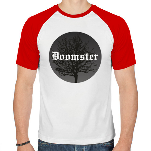 Мужская футболка реглан  Фото 01, Doomster
