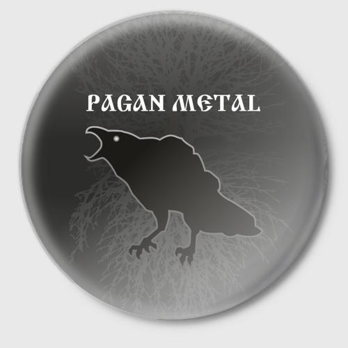 Значок  Фото 01, значок Pagan metal