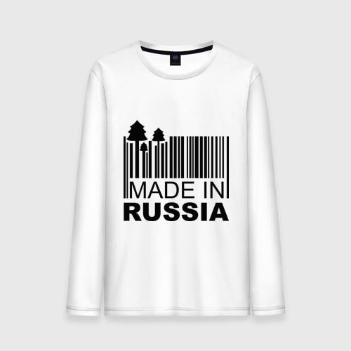 Мужской лонгслив хлопок  Фото 01, Made in Russia штрихкод