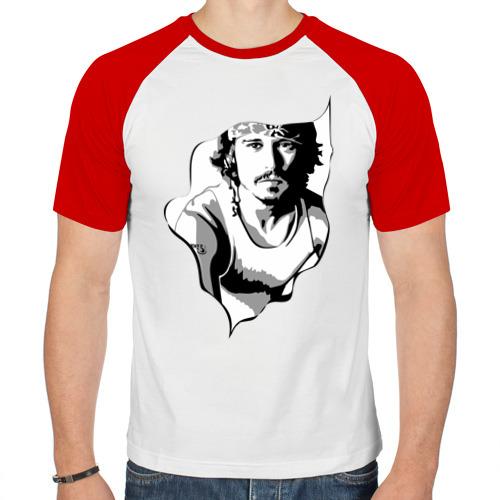 Мужская футболка реглан  Фото 01, Джонни Депп
