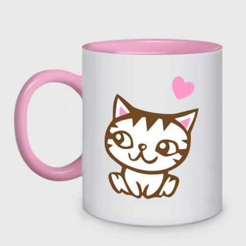 Kitty in love