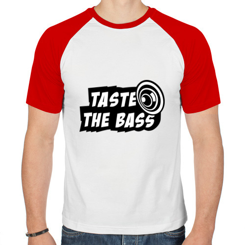 Мужская футболка реглан  Фото 01, Taste the bass