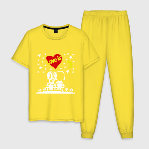 Мужская пижама хлопок Love is... (1) Фото 01