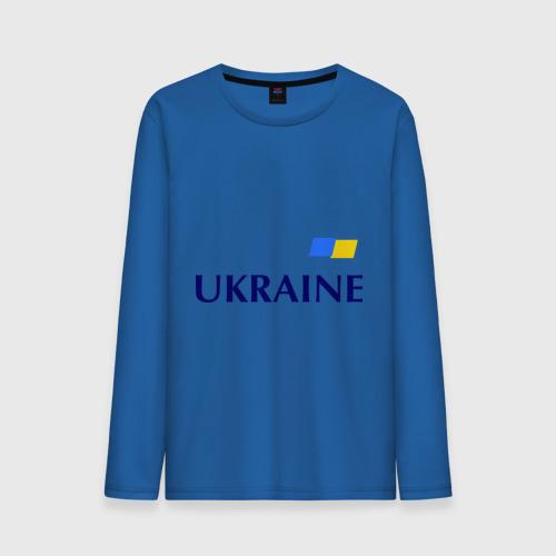 Мужской лонгслив хлопок  Фото 01, Сборная Украины - 10