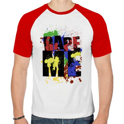 Мужская футболка реглан  Фото 01, Nirvana - Rape me