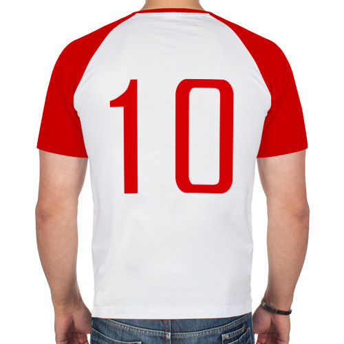 Мужская футболка реглан  Фото 02, Сборная Англии - 10