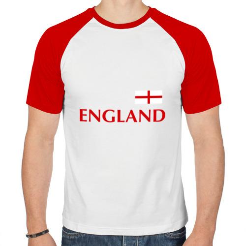 Мужская футболка реглан  Фото 01, Сборная Англии - 10