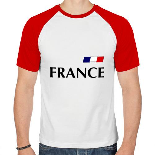 Мужская футболка реглан  Фото 01, Сборная Франции - Бензима 10 (Benzima)
