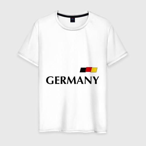 Мужская футболка хлопок Сборная Германии - 10