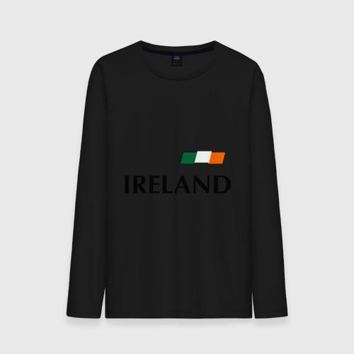 Мужской лонгслив хлопок  Фото 01, Сборная Ирландии - 7