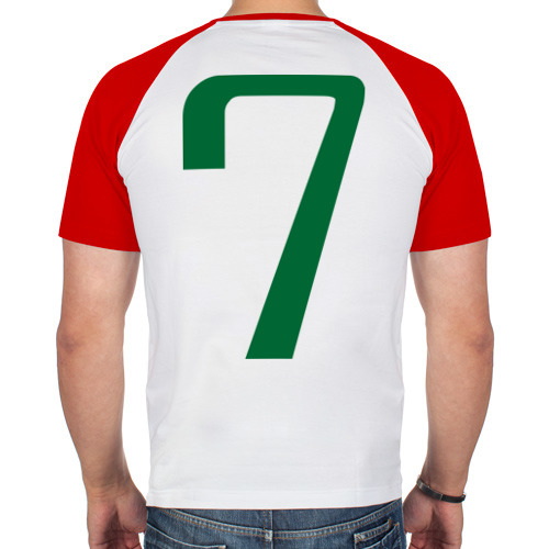 Мужская футболка реглан  Фото 02, Сборная Ирландии - 7