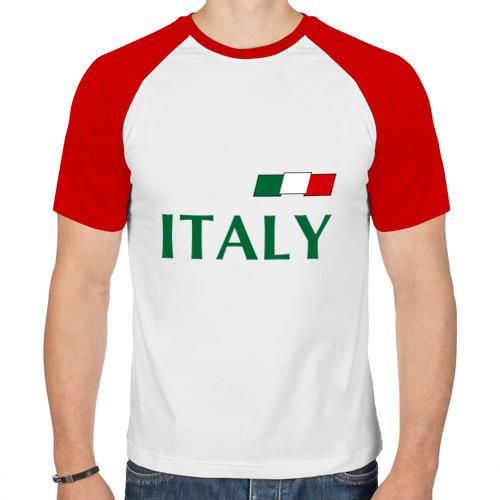 Мужская футболка реглан  Фото 01, Сборная Италии - 1