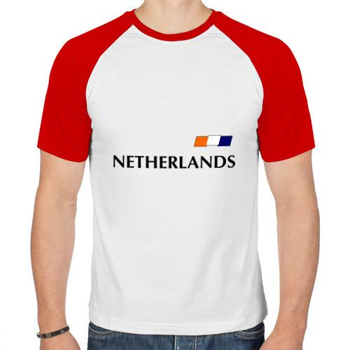 Мужская футболка реглан  Фото 01, Нидерланды - Уэсли Снейдер 10 (Snaijder)
