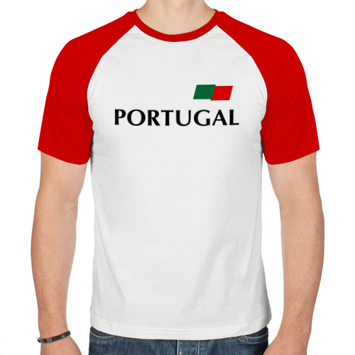 Мужская футболка реглан  Фото 01, Сборная Португалии - Криштиану Роналду 7