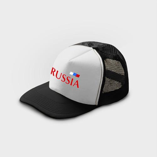 Кепка тракер с сеткой Сборная России Фото 01