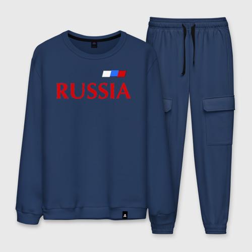 Мужской костюм хлопок Сборная России Фото 01