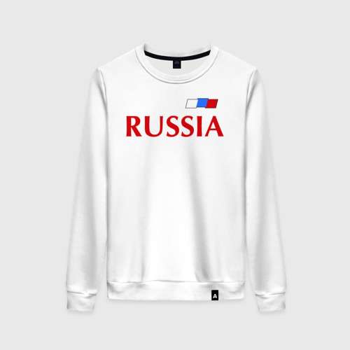 Женский свитшот хлопок Сборная России