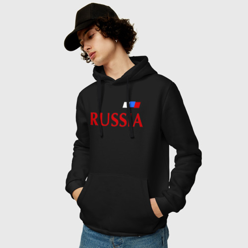 Мужская толстовка хлопок Сборная России Фото 01