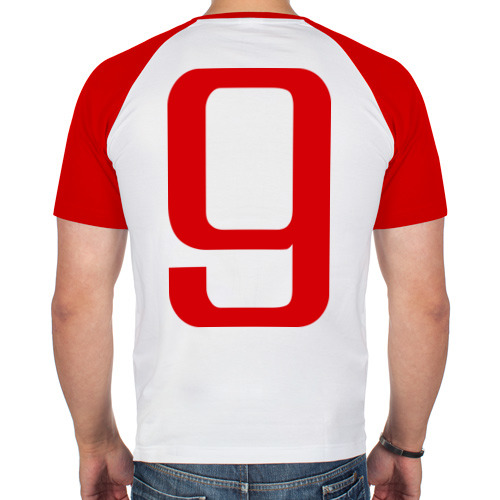 Мужская футболка реглан  Фото 02, Сборная России - 9