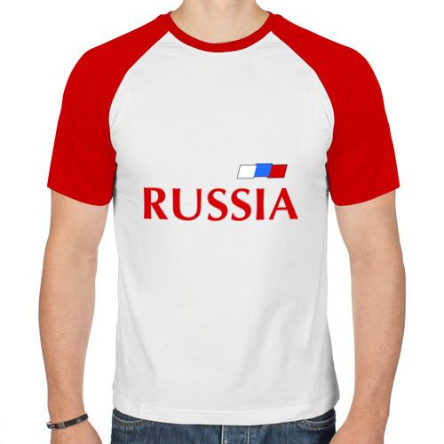 Мужская футболка реглан  Фото 01, Сборная России - Андрей Аршавин 10 (Arshavin)