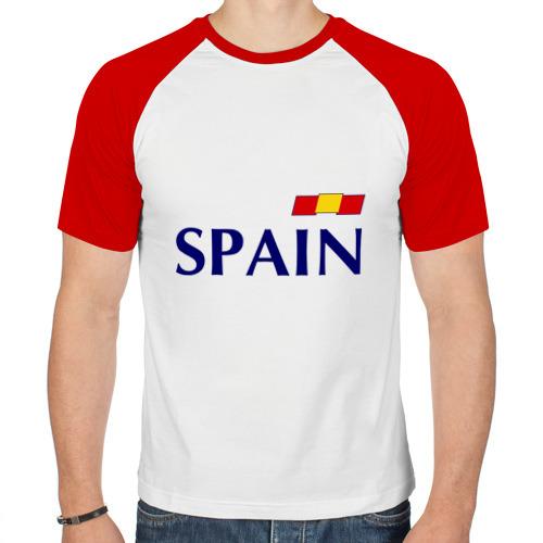 Мужская футболка реглан  Фото 01, Сборная Испании - Хави 8