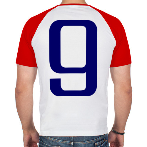 Мужская футболка реглан  Фото 02, Сборная Испании - 9