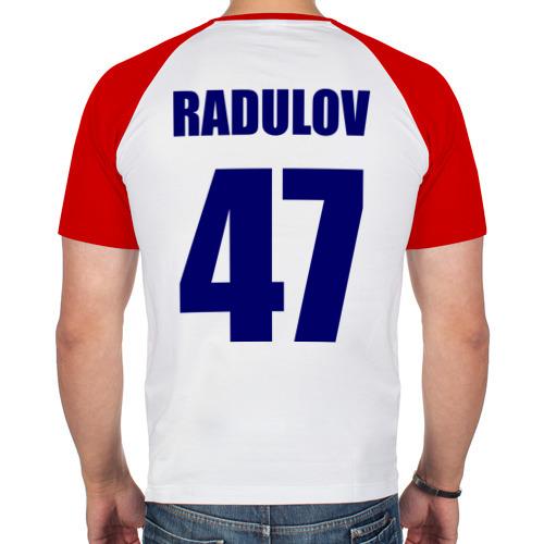 Мужская футболка реглан  Фото 02, Nashville Predators Radulov - Радулов 47