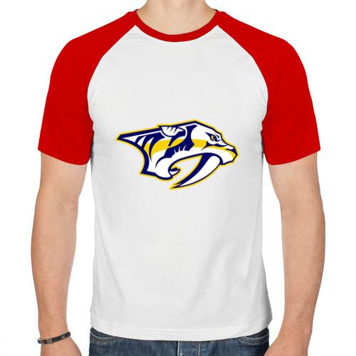 Мужская футболка реглан  Фото 01, Nashville Predators Radulov - Радулов 47
