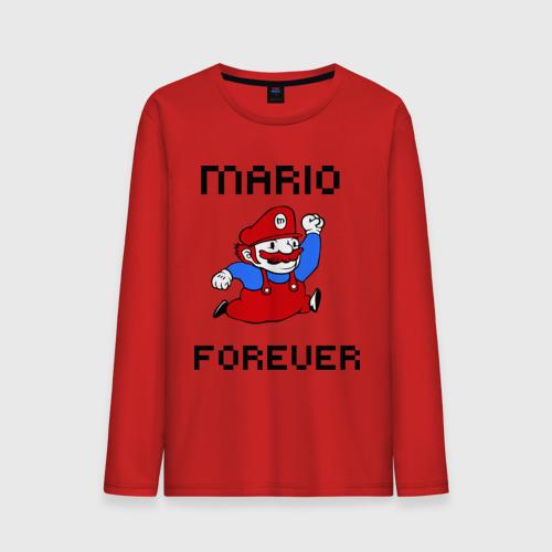 Мужской лонгслив хлопок  Фото 01, Mario forever