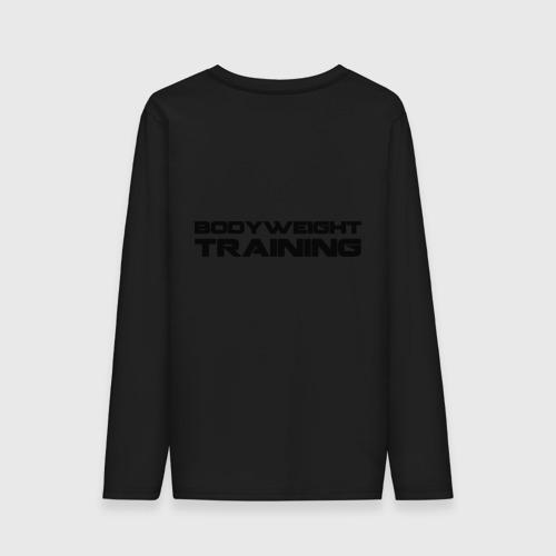 Мужской лонгслив хлопок  Фото 02, Bodyweight Training